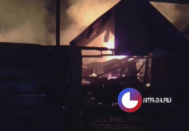 ВТатарстане впожаре вдачном доме живьем сгорел младенец