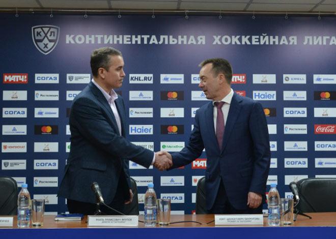 «Нефтехимик» объявил оназначении Раиля Якупова директором клуба