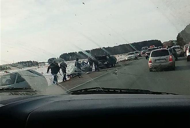 Шесть человек пострадали вДТП вТатарстане