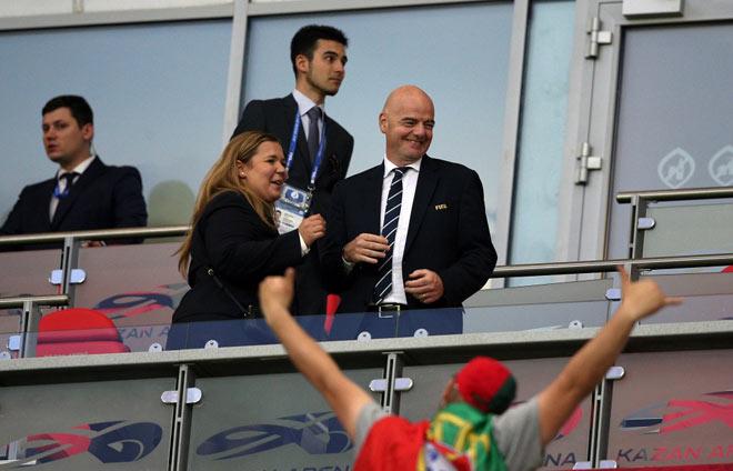 Президент ФИФА: Казань— хорошее место для всего мира имира футбола
