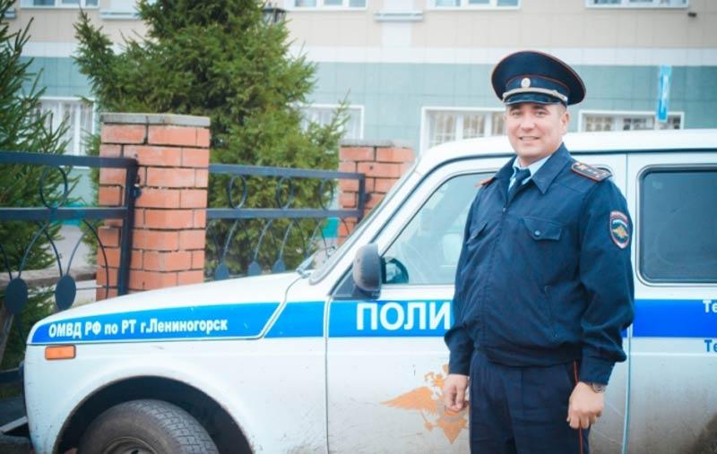 Полицейский изТатарстана стал победителем конкурса «Народный участковый»