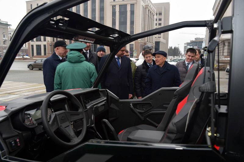 Экологи Татарстана получили 16 новых машин