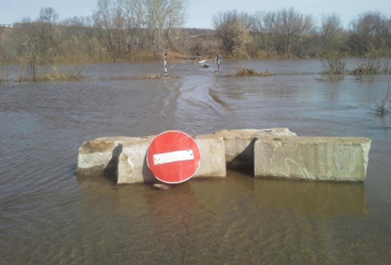 Названы точки Татарстана, куда вближайшие дни придет паводок