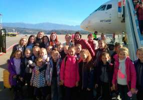 Нижнекамские гимнастки, чей самолет не смог сесть в Краснодаре, привезли домой более двух десятков медалей