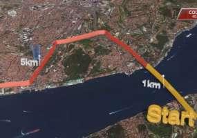 Нижнекамка добежала от Азии до Европы за 5 часов