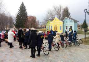 В Нижнекамске состоялось открытие автогородка «Велики»