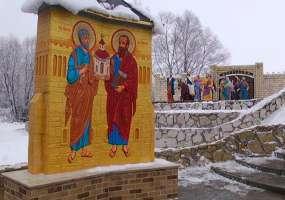 В Нижнекамском районе появились образы Иисуса Христа и 12 апостолов