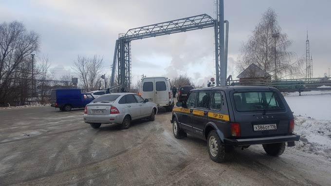 На одном из заводов в Нижнекамске произошел пожар