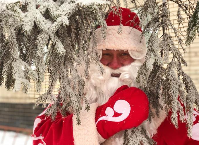 Фоторепортаж: «Стань Дедом Морозом!». Вручение подарков