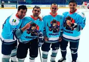 В Нижнекамске уже 9 команд играют в любительской хоккейной лиге