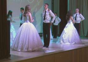 Мамы кадетов приехали на концерт в Нижнекамск, преодолев тысячи километров