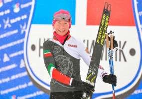 Диляра Сабирзянова завоевала «бронзу» на этапе кубка России по лыжным гонкам