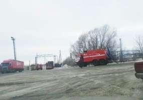 Площадь возгорания на территории промзоны Нижнекамска составила 2 кв. м