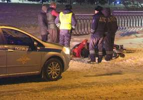 «Лада Калина» сбила на пешеходном переходе в Нижнекамске 26-летнего молодого человека