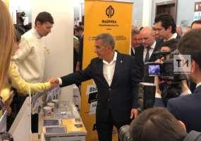 Минниханов поддержал проект сыроварни 13-летнего бизнесмена на «Фабрике предпринимательства»