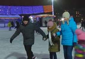 В Нижнекамске будут работать 27 оборудованных ледовых катков