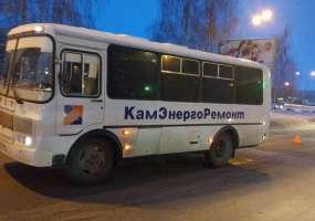 В Нижнекамске «ПАЗ», ехавший со стороны промзоны, сбил женщину