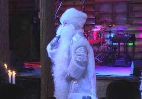 В Нижнекамске Дед Мороз поздравил бизнесменов с наступающим Новым годом