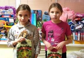 В акции «Стань Дедом Морозом!» приняли участие дети из многодетной семьи
