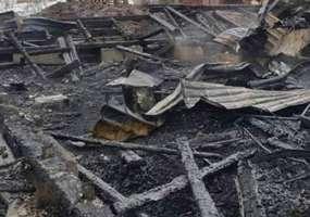 В Нижнекамском районе сгорел дом