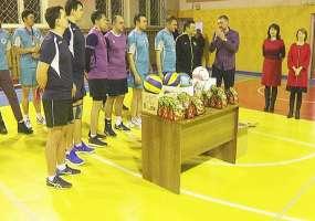 Команда «ТАНЕКО», повторив прошлогодний успех, выиграла благотворительный волейбольный турнир