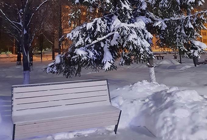 В Нижнекамске 15 градусов мороза, завтра немного потеплеет