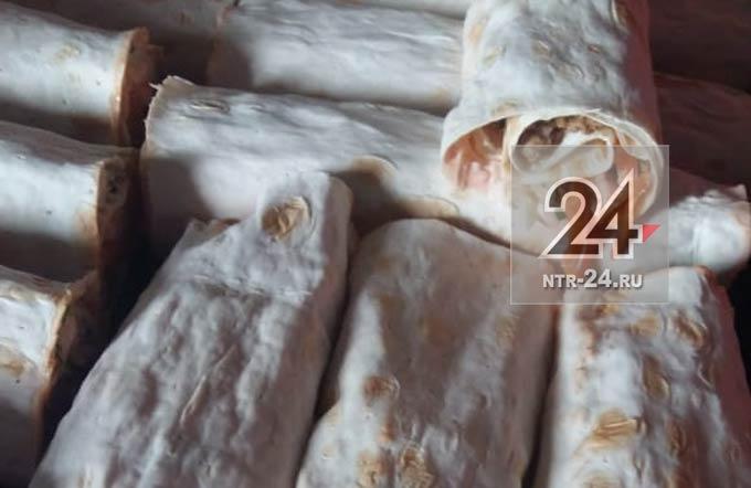 В Нижнекамске после отравления семьи была закрыта точка по продаже шаурмы