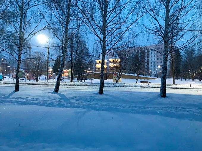 В Нижнекамском районе к морозу присоединится неожиданное явление
