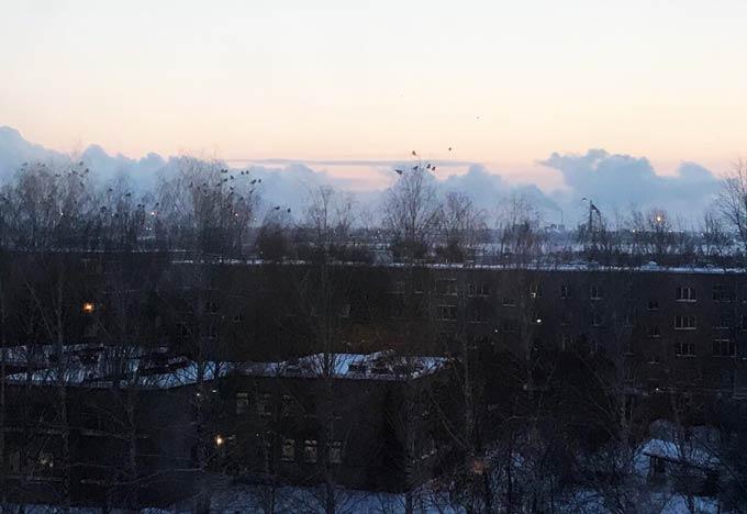 В Нижнекамске 16 градусов, ожидается морозная и ясная погода