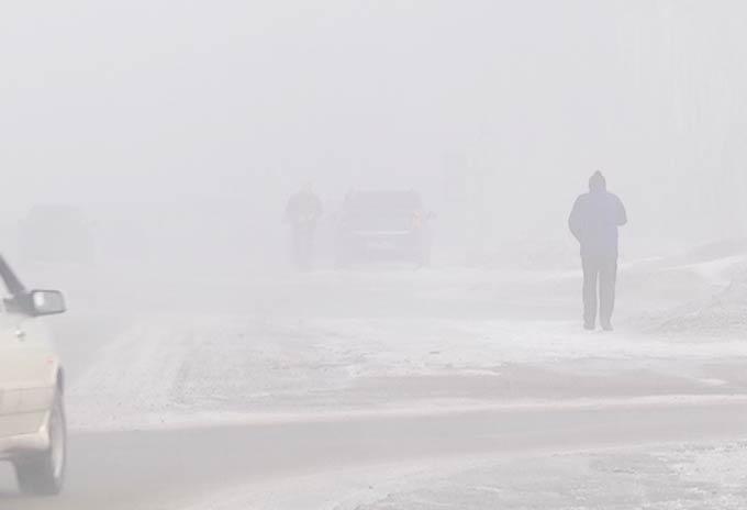 В Нижнекамске ожидается мороз и туман