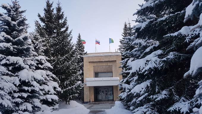 В Нижнекамске -12 градусов, ожидается ясная погода