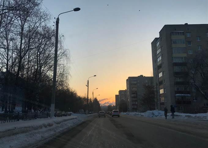 В Нижнекамске -13 градусов, ожидается ясная и морозная погода