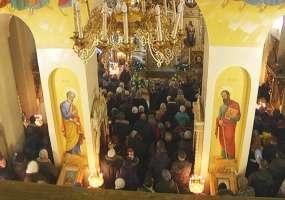 Как нижнекамцы встретили Рождество Христово