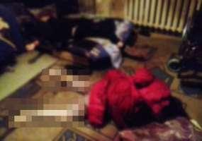 Появились фотографии с места убийства двух человек в Нижнекамске