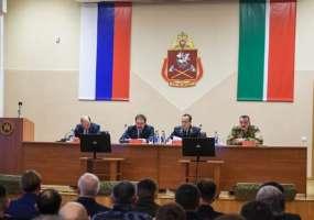 Росгвардия по РТ подведела итоги служебно-боевой деятельности в 2018 году