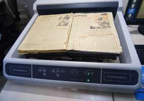 Городской архив начал сканировать первые газеты Нижнекамска