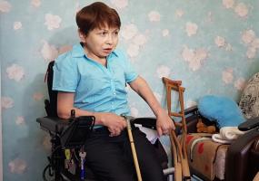 Нижнекамская спортсменка не может получить инвалидную коляску