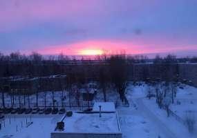 В Нижнекамске 9 градусов мороза, ожидается снегопад