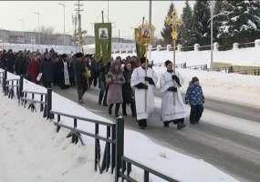 Епископ Чистопольский и Нижнекамский Пармен проведет в Нижнекамске службу в честь Крещения
