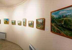 В Нижнекамском районе прошла выставка молодых художников