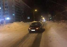 В Нижнекамске сбитый пешеход убежал с места аварии