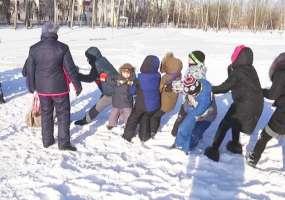Жаркие игры в трескучий мороз устроили в Нижнекамске
