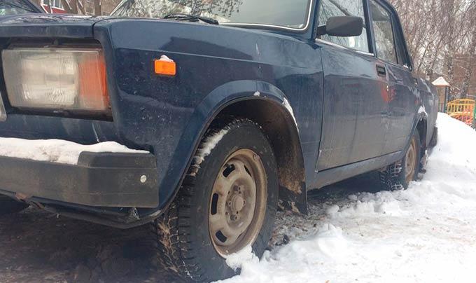 Брошенные авто исчезнут с нижнекамских дворов