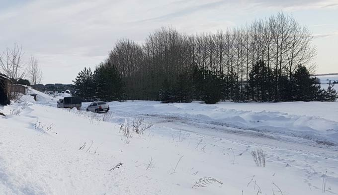 В Нижнекамске 14 градусов мороза, ожидается метель
