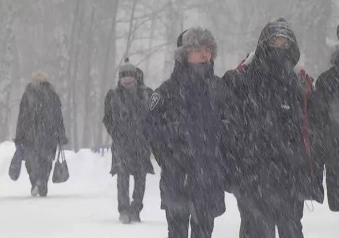 Метель с мокрым снегом и сильным ветром синоптики прогнозируют в Татарстане