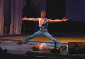 В фестивале боевых искусств в Нижнекамске приняли участие артисты «Цирка дю Солей» и мировые чемпионы