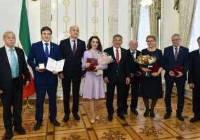 Специалисты «Нижнекамскнефтехима» получили государственную премию Республики Татарстан