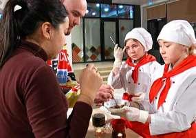 В Нижнекамске активные студенты показали мастер-классы