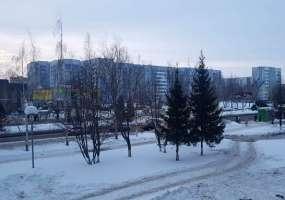 В Нижнекамске -8 градусов, прогнозируется метель