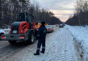 На территории Татарстана ожидаются сильные снегопады с ухудшением видимости на дорогах